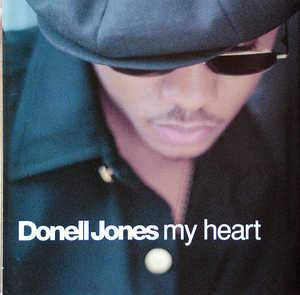 Album  Cover Donell Jones - My Heart on LA FACE Records from 1996