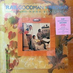 Album  Cover Ray Goodman & Brown - Mood For Lovin' on TNECK Records from 1988