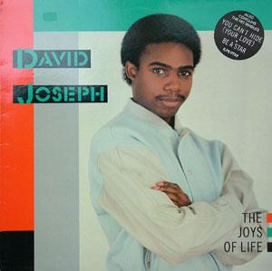 Album  Cover David Joseph - The Joys Of Life on ISLAND Records from 1983
