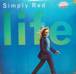 Album  Cover Simply Red - Life on WARNER MUSIC Records from 1995