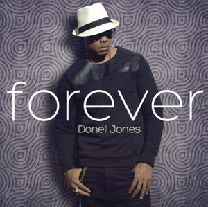 Album  Cover Donell Jones - Forever on E1 MUSIC Records from 2013