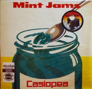 Album  Cover Casiopea - Mint Jams on ALFA Records from 1982