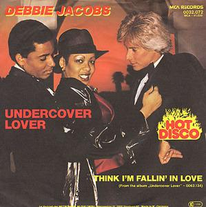 Album  Cover Debbie Jacobs - Undercover Lover on MCA Records from 1979