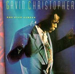 Album  Cover Gavin Christopher - One Step Closer on EMI MANHATTAN Records from 1986