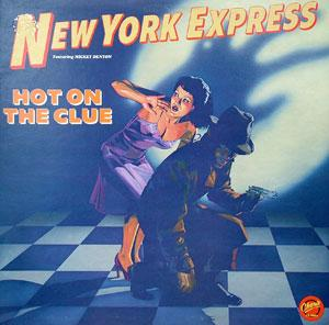 Front Cover Album New York Express - Hot On The Clue