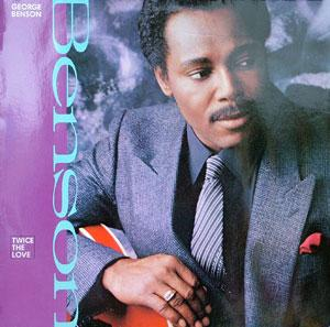 Album  Cover George Benson - Twice The Love on WARNER BROS. Records from 1988