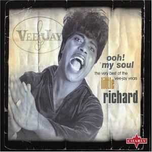 Album  Cover Little Richard - Ooh! My Soul on CHARLY Records from 1982