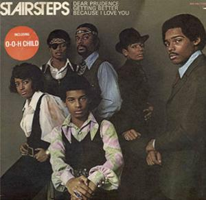 Album  Cover The Stairsteps - Stairsteps on BUDDAH Records from 1970