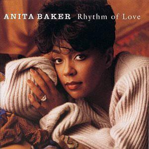 Album  Cover Anita Baker - Rhythm Of Love on ELEKTRA Records from 1994