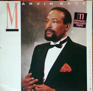 Album  Cover Marvin Gaye - Romantically Yours on COLUMBIA Records from 1985
