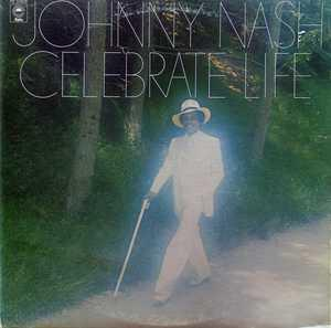 Album  Cover Johnny Nash - Celebrate Live on EPIC Records from 1974