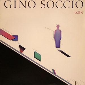 Album  Cover Gino Soccio - Outline on RFC Records from 1977