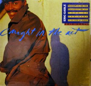 Album  Cover Eric Gable - Caught In The Act on ORPHEUS Records from 1989