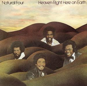 Album  Cover The Natural Four - Heaven Right Here On Earth on CURTOM Records from 1975