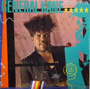 Album  Cover General Kane - Wide Open on MOTOWN Records from 1987