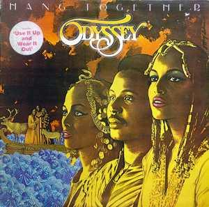 Album  Cover Odyssey - Hang Together on RCA Records from 1980