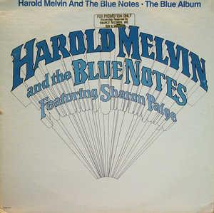 Album  Cover Harold Melvin & The Blue Notes - The Blue Album on SOURCE (MCA) Records from 1980