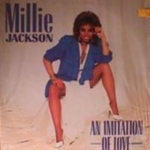 Album  Cover Millie Jackson - An Imitation Of Love on JIVE Records from 1986