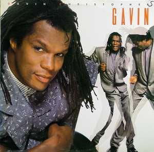 Album  Cover Gavin Christopher - Gavin on EMI MANHATTAN Records from 1988