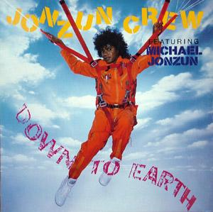 Album  Cover Jonzun Crew - Down To Earth on A&M Records from 1985