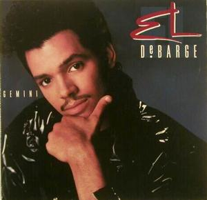 Album  Cover El Debarge - Gemini on MOTOWN Records from 1989