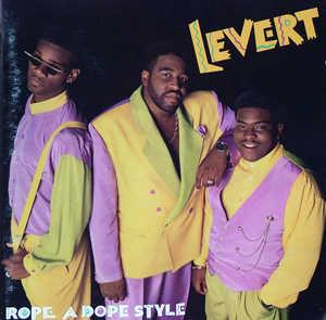 Front Cover Album Levert - Rope A Dope Style