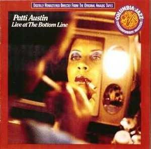 Album  Cover Patti Austin - Live At The Bottom Line on EPIC Records from 1979