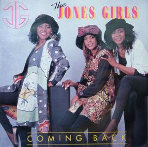 Front Cover Album The Jones Girls - Coming Back