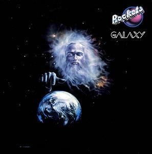 Album  Cover Rockets - Galaxy on ROCKLAND Records from 1980