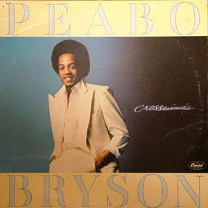 Album  Cover Peabo Bryson - Crosswinds on CAPITOL Records from 1978
