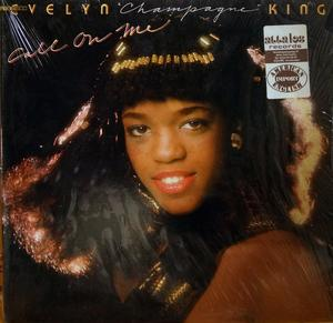 Album  Cover Evelyn 'champagne' King - Call On Me on RCA Records from 1980