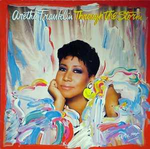 Front Cover Album Aretha Franklin - Through The Storm
