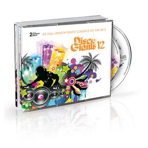Album  Cover Various Artists - Disco Giants Volume 12 on PTG Records from 2015