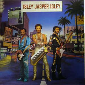 Album  Cover Isley Jasper Isley - Broadway's Closer To Sunset Blvd on CBS Records from 1984