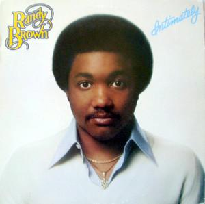Album  Cover Randy Brown - Intimately on PARACHUTE Records from 1979