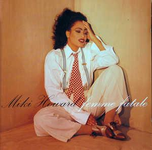 Album  Cover Miki Howard - Femme Fatale on GIANT Records from 1992