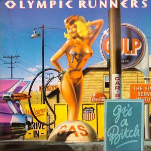 Album  Cover Olympic Runners - It's A Bitch on POLYDOR Records from 1979