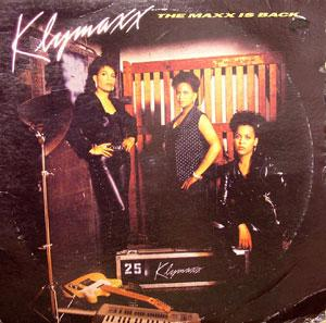 Album  Cover Klymaxx - The Maxx Is Back on M.C.A. Records from 1990