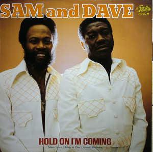 Album  Cover Sam & Dave - Hold On I'm Coming on SURPRISE Records from 1987