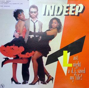 Album  Cover Indeep - Last Night A D.j Saved My Life on SOUND OF NEW YORK Records from 1982