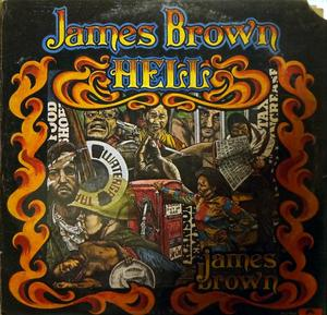Album  Cover James Brown - Hell on POLYDOR Records from 1974
