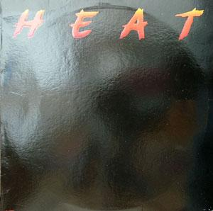 Album  Cover Heat - Heat on MCA Records from 1980