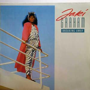 Album  Cover Jaki Graham - Breaking Away on EMI Records from 1986