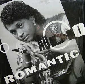 Album  Cover Audio - Romantic on RARE GROOVES Records from 1991