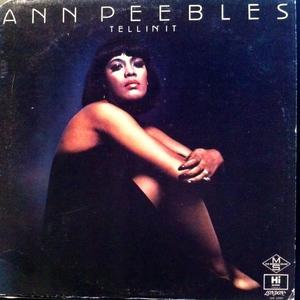 Album  Cover Ann Peebles - Teliin 'it on HI Records from 1976