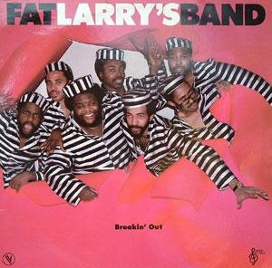 Album  Cover Fat Larry's Band - Breakin' Out on WMOT Records from 1982