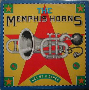 Album  Cover Memphis Horns - Get Up And Dance on RCA Records from 1977