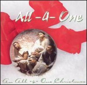 Album  Cover All 4 One - An All-4-one Christmas on ATLANTIC Records from 1995