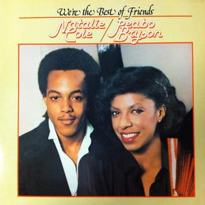 Front Cover Album Natalie Cole & Peabo Bryson - We're The Best Friends