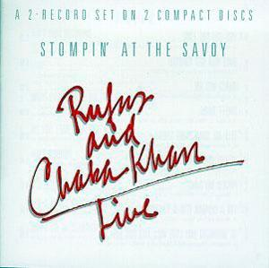 Album  Cover Rufus & Chaka Khan - Stompin' At The Savoy on WARNER BROS. Records from 1983